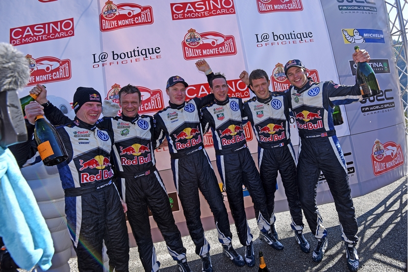 WRC: Rally Monte Carlo sees Volkswagen take historic one-two-three!