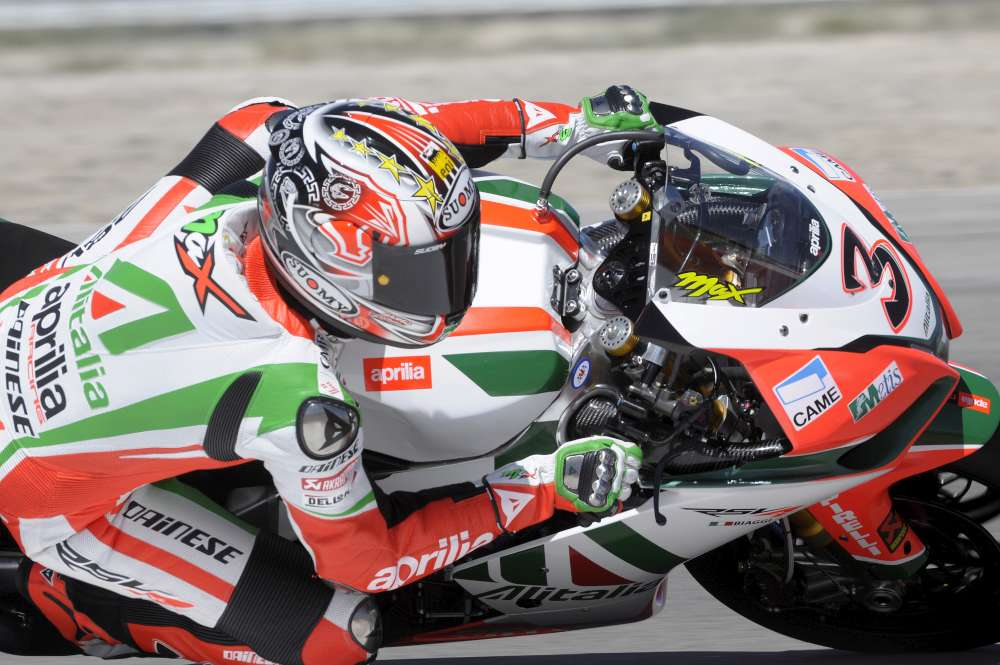 Max Biaggi triumphant in double podium wins at Miller Park, USA