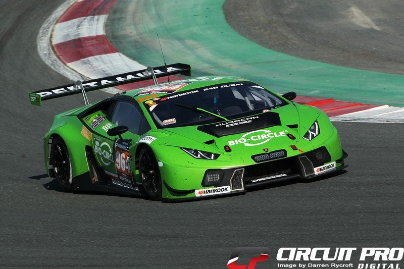 Dubai: Bortolotti puts GRT Grasser Racing Team Lamborghini on record pole for 24H of Dubai