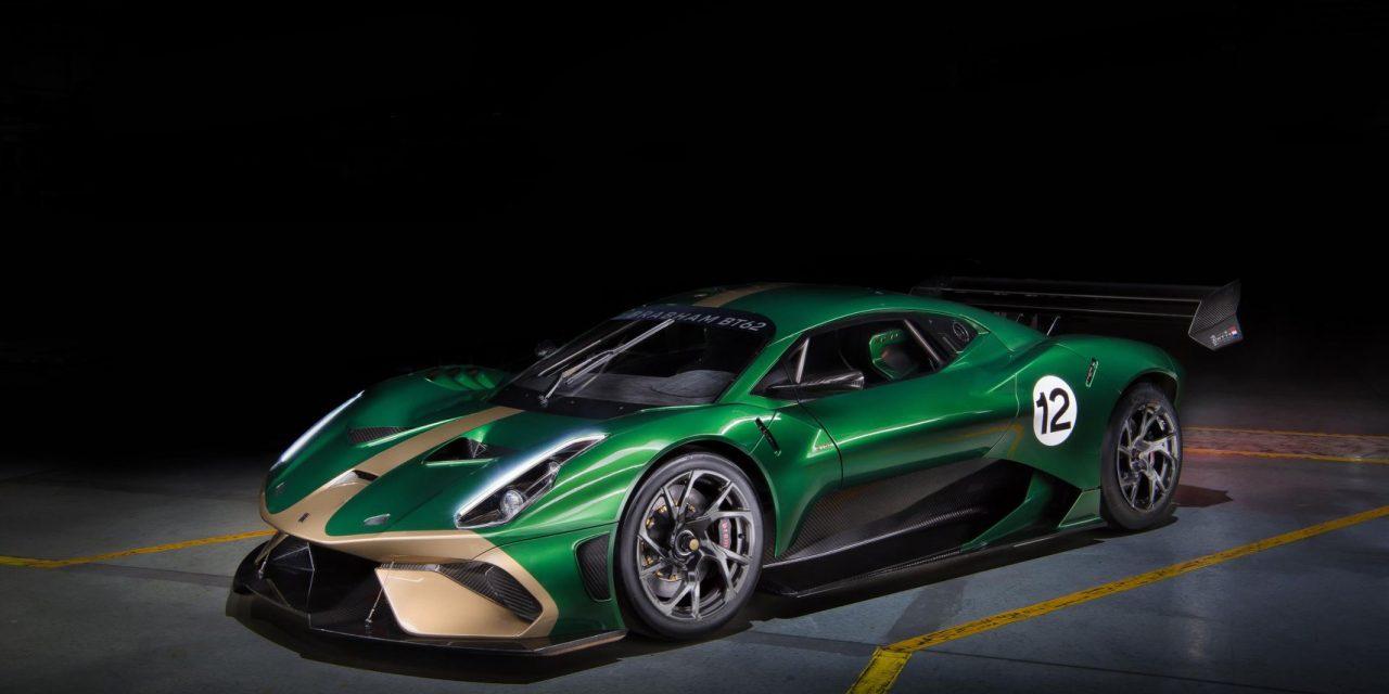 Auto: Brabham Automotive unveils £1m 'Brabham BT62' limited edition V8