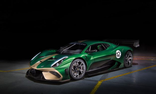 Auto: Brabham Automotive unveils £1m 'Brabham BT62' limited edition V8