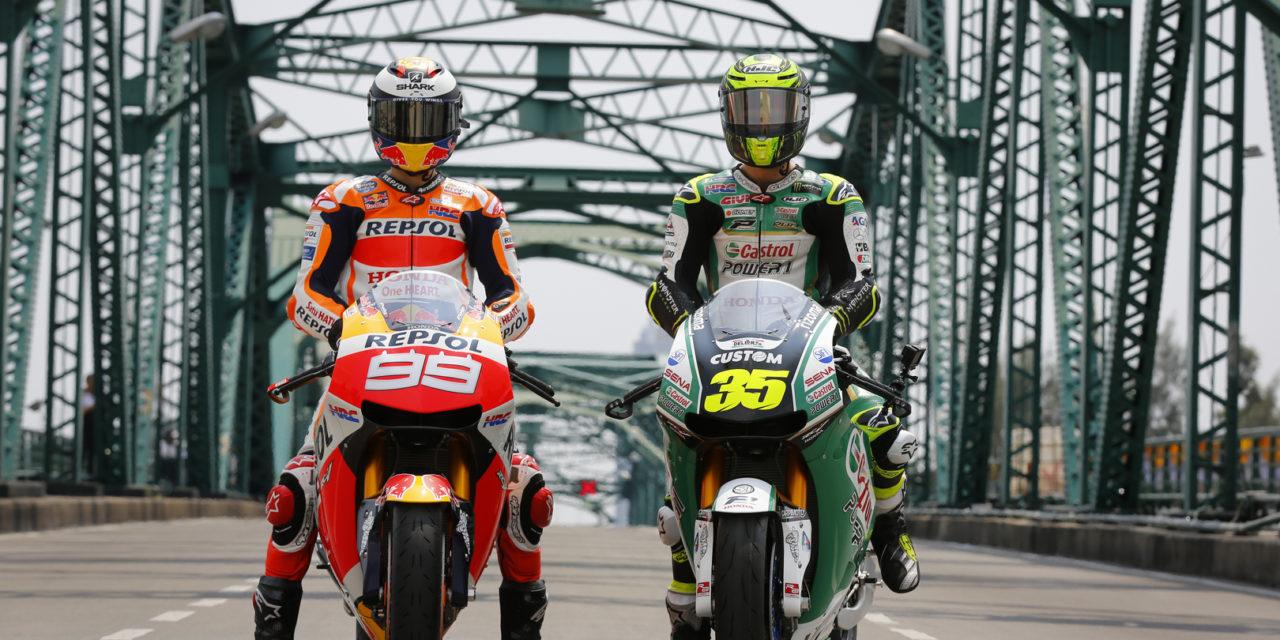 MotoGP: Lorenzo, Crutchlow and Chantra continue their tour of the Thai capital ahead of Buriram GP