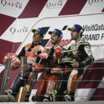 MotoGP: Photo finish for Dovi as five riders battle for glory in stunning Qatar season opener