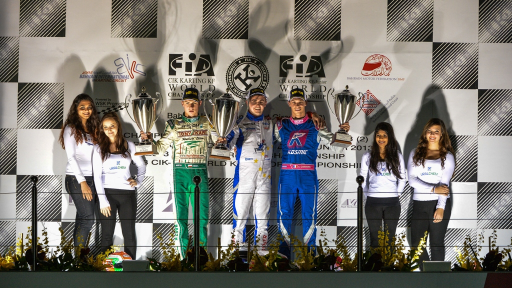 Bahrain: Joyner and Pulcini clinch impressive CIK-FIA World KF titles at BIC