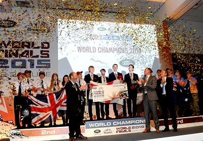 Schools: Vertical Horizon crowned 2015 Land Rover 4×4 in Schools World Champions
