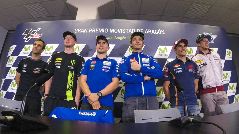 MotoGP: Riders arrive in Aragon as Rossi maintains narrow championship lead