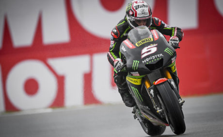 Johann Zarco (Monster Yamaha Tech 3) took his first ever premier class pole position at the Dutch GP,..