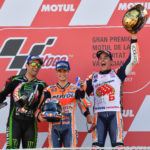 MotoGP: Marquez crowned World Champion in Valencia as Pedrosa wins dramatic race over Zarco