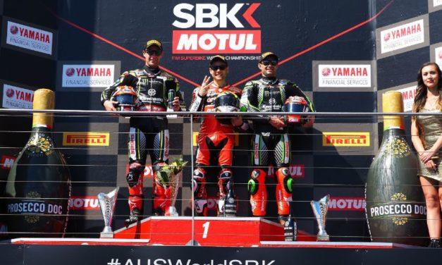 WSBK: ARUBA.ITRacing Ducati rider Bautista secures hat trick of victories in dream WorldSBK debut