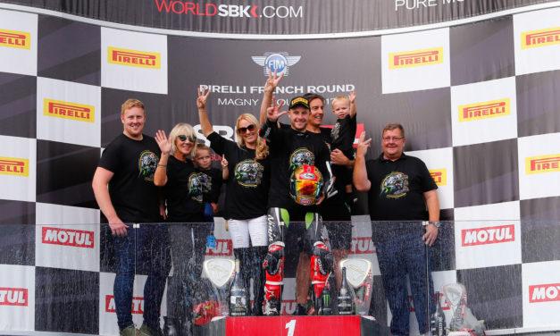 WSBK: Kawasaki rider Rea seals third successive title with victory in France