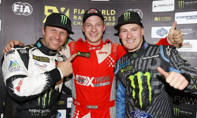 RallyX: Ekstrom crowned new World RX Champion as Eriksson wins German RX