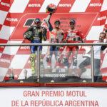 MotoGP: Marquez dominates ahead of a Rossi vs Dovi last lap duel in Argentina