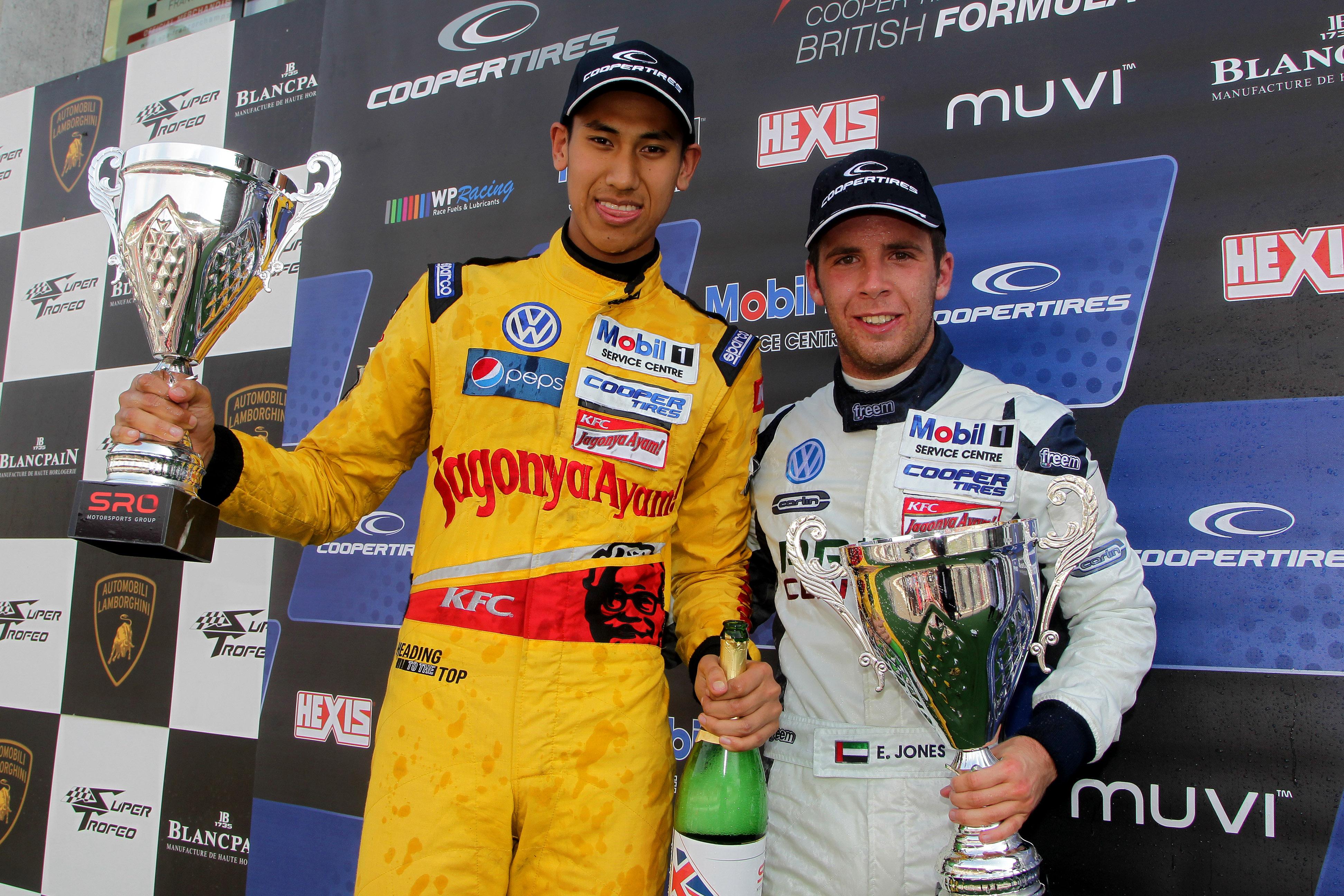 F3: Dubai's star driver Ed Jones makes it three wins on his race comeback at Spa