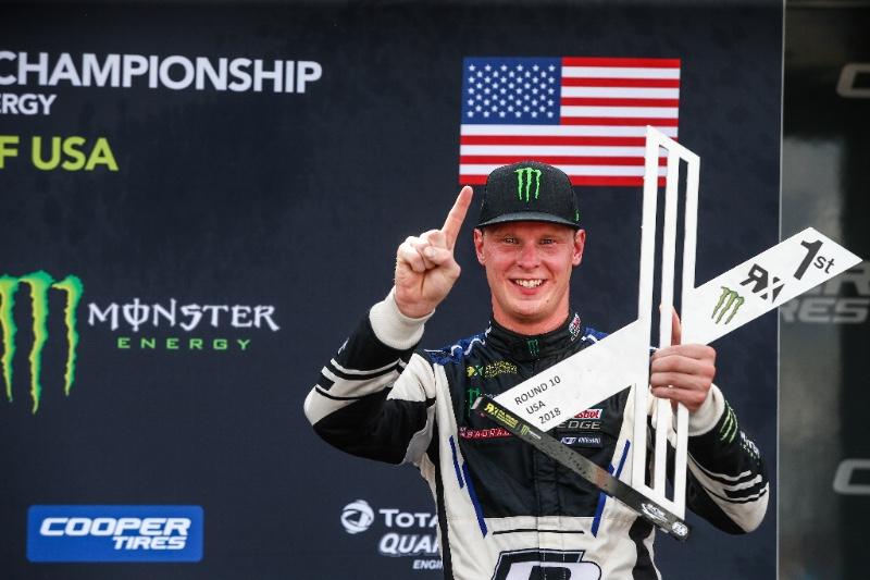 Rallycross: Johan Kristoffersson crowned 2018 World Rallycross Drivers' Champion in Texas