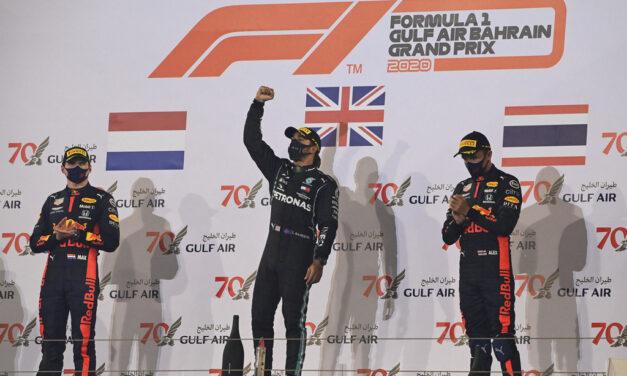 F1: Hamilton wins incident-filled F1 Gulf Air Bahrain GP