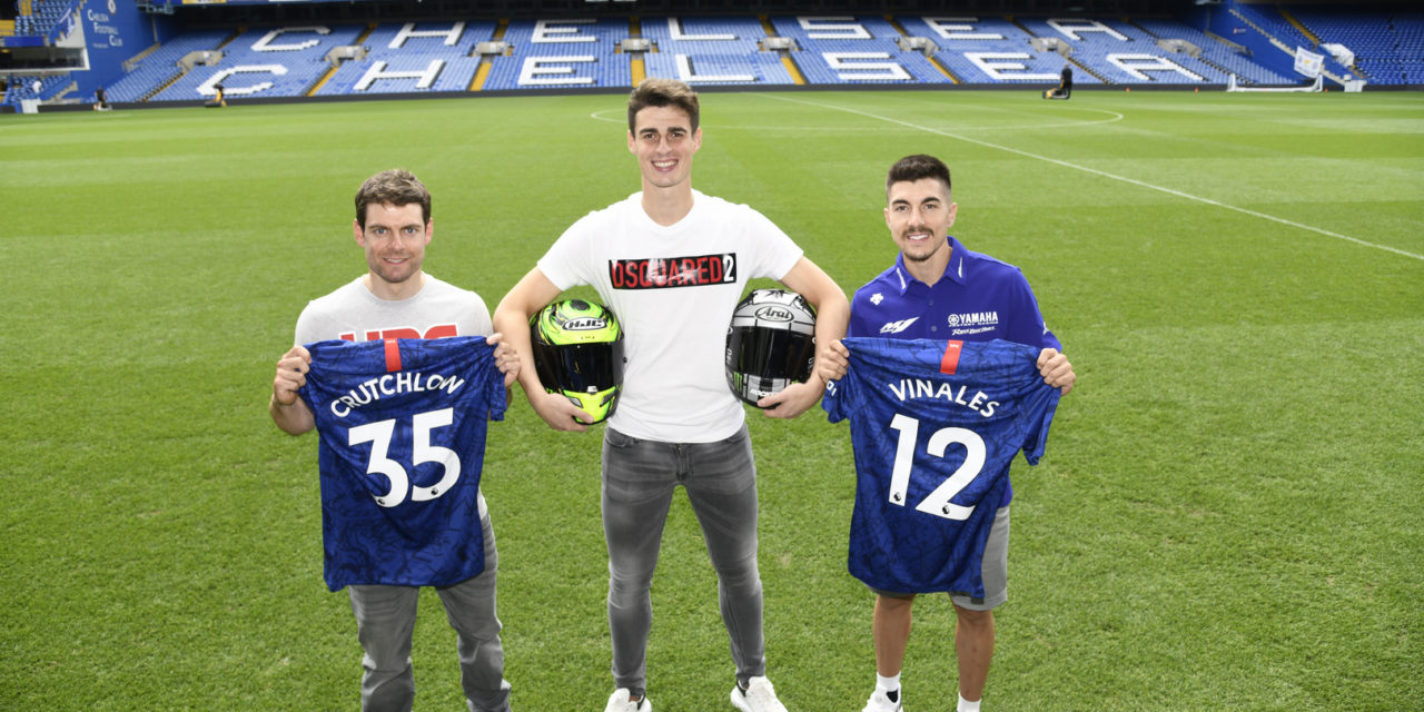 MotoGP: Crutchlow and Viñales get the ball rolling for Silverstone at Stamford Bridge