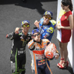 MotoGP: Marquez wins, Rossi crashes and Syahrin storms into the top ten at Sepang