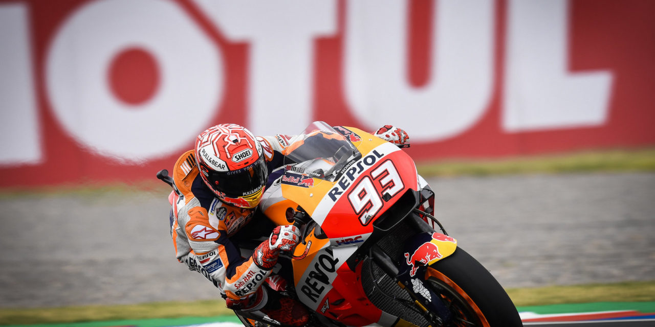 MotoGP: Blistering Marquez sets the pace in Argentina