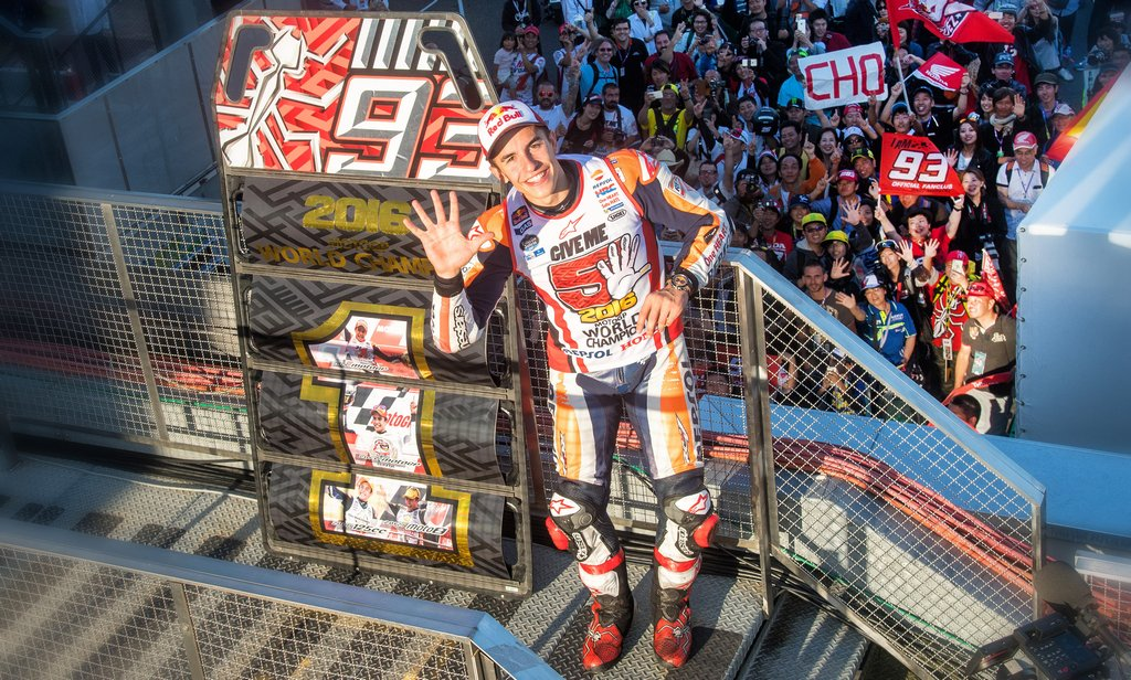 MotoGP: Marquez takes the crown in Motegi drama lifting his fifth career title