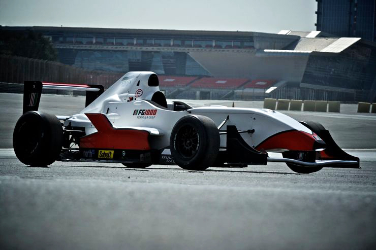 Formula Gulf: New junior Single Seater series open for testing at Yas Marina Circuit