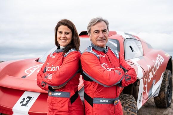 Electric: Carlos and Laia Sanz form new Extreme E entry as ACCIONA   Sainz XE Team