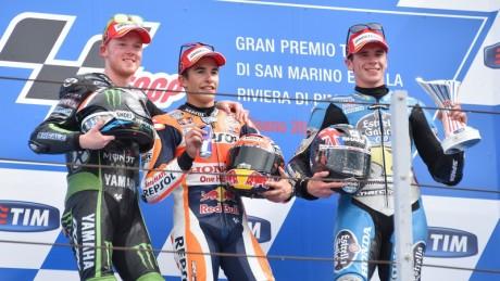 Misano podium 2015