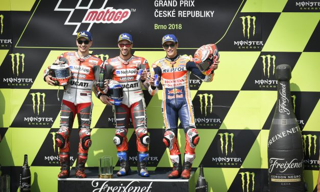 MotoGP: Dovi fights off Lorenzo and Marquez in a Czech classic
