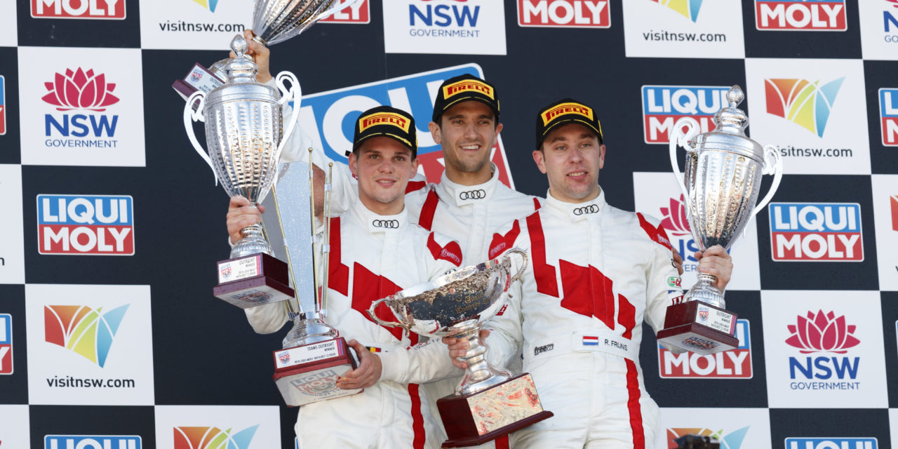 Bathurst 12h: Audi claims first Bathurst 12h victory after red flag in final minutes