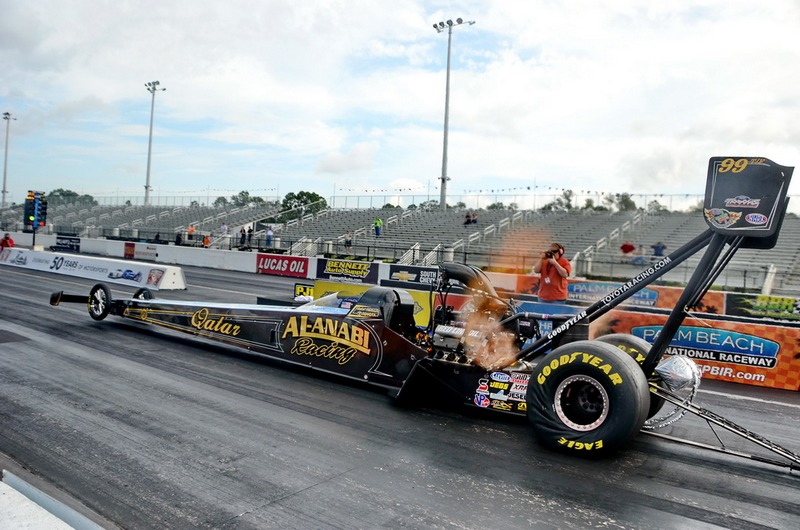 Drag: Khalid Al Balooshi enjoys first victory of new NHRA season in California