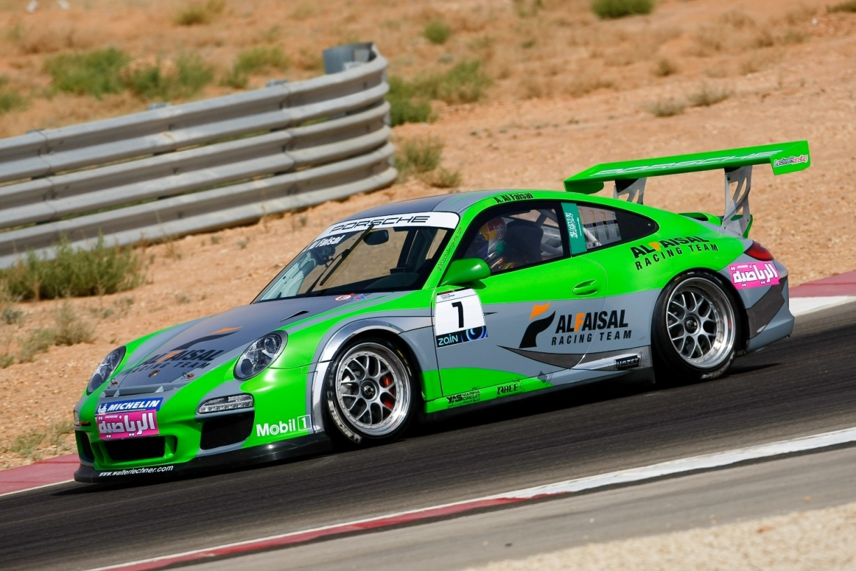Porsche GT3 Cup Middle East Champion Abdulaziz hopes to inspire young Saudi's in motorsport