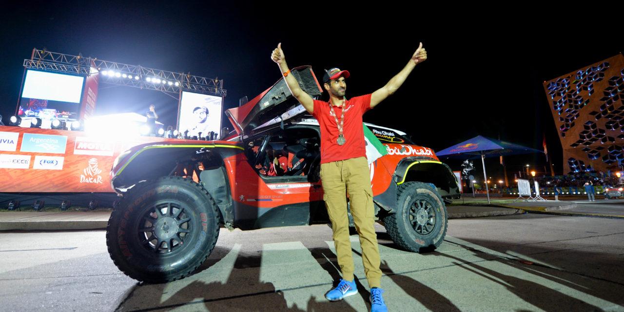 Dakar: Sheikh Khalid Al Qassimi and co-driver Xavier Panseri end Dakar campaign in 6th overall
