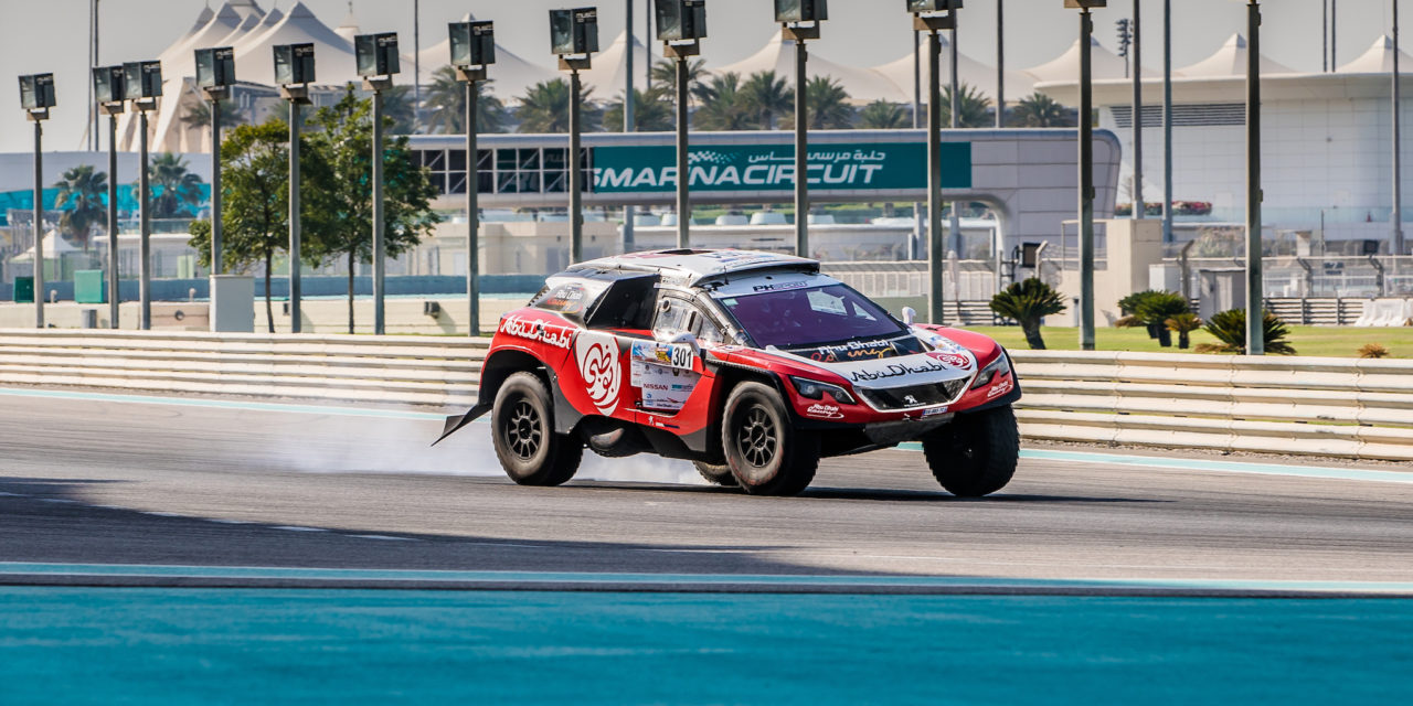 Rally: Sheikh Khalid wins Super Special Spectator Stage of Abu Dhabi Desert Challenge