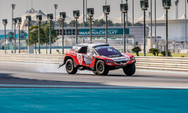 Rally: Sheikh Khalid wins Super Special Spectator Stage of Abu Dhabi Desert Challenge