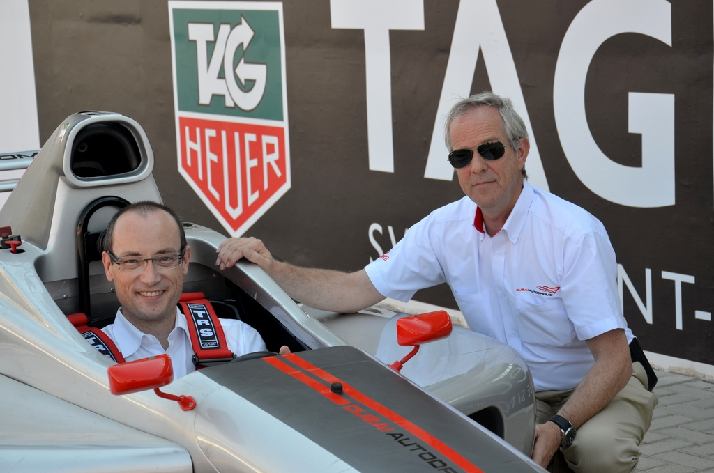 Dubai Autodrome and TAG Heuer announce exciting motorsport partnership