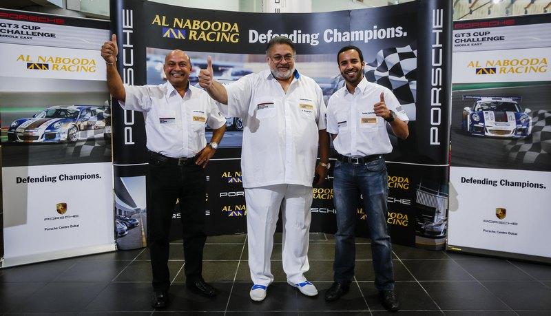 Porsche GT3 ME: Dubai's Al Naboodah Racing launch new driver line-up with new recruit Al Harthy