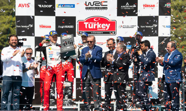 WRC: Rally Turkey – Tanak makes it three in a row with caution the name of the game
