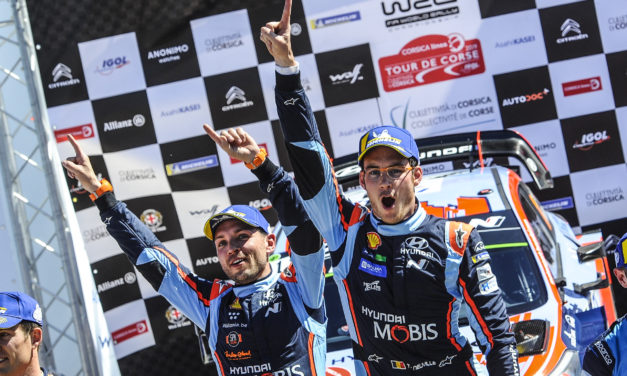 WRC: Corsica serves up a nail-biting finish which sees Thierry Neuville take a last gasp victory!