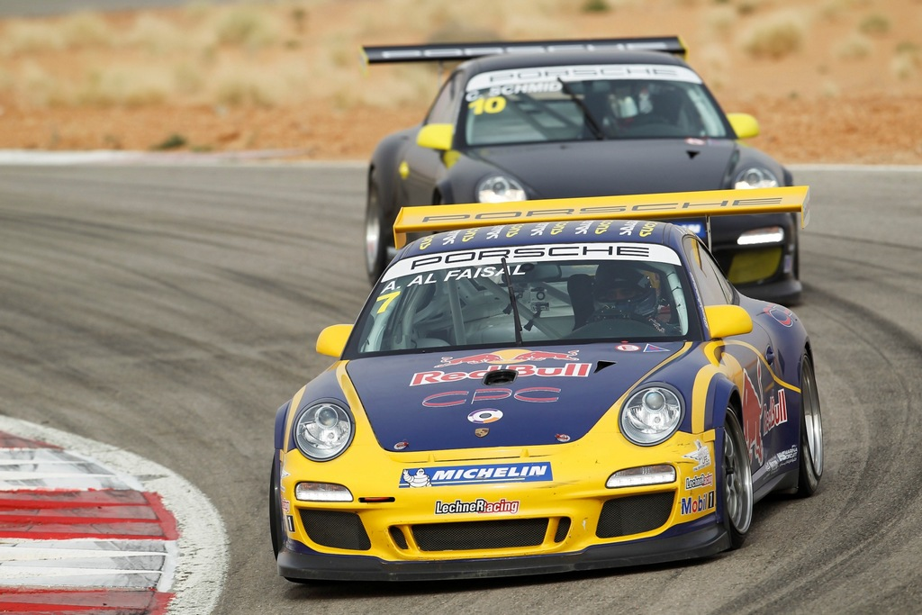 Porsche GT3 Cup: Patience leads Abdulaziz to victory on home turf at Reem Circuit