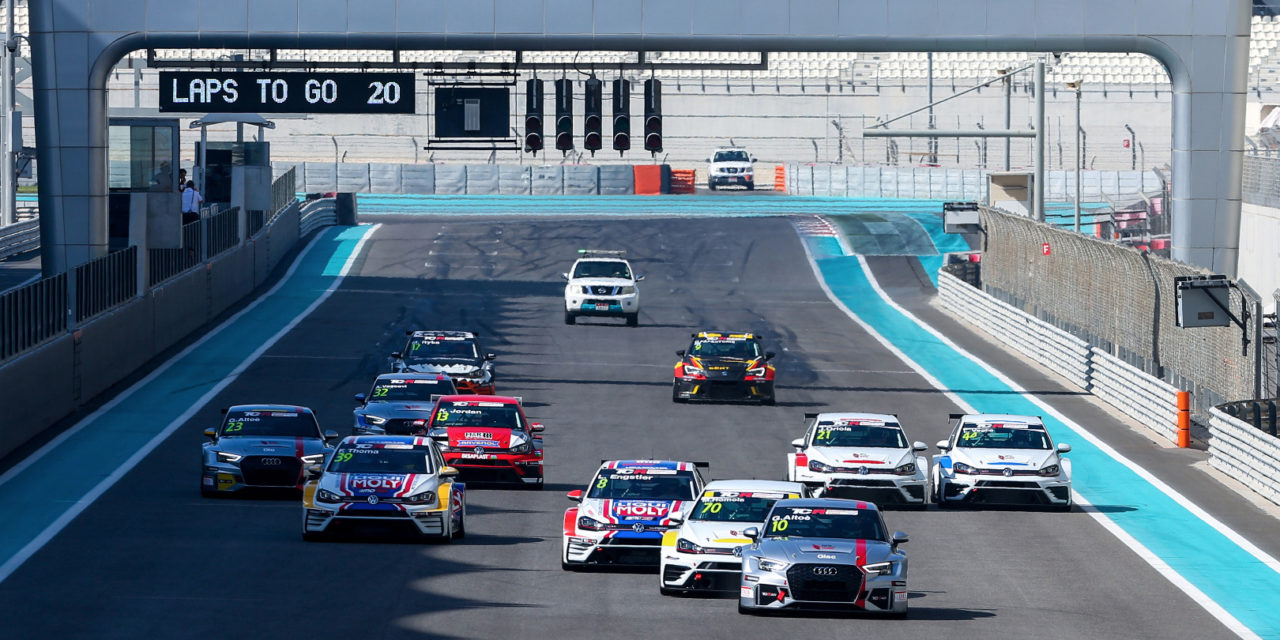 Abu Dhabi: Altoè and Engstler shares victories in TCR Middle East series opener at Yas Marina circuit