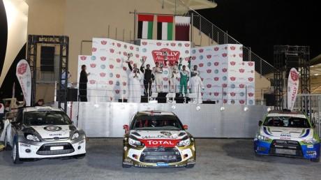 Abu Dhabi Rally Top 3