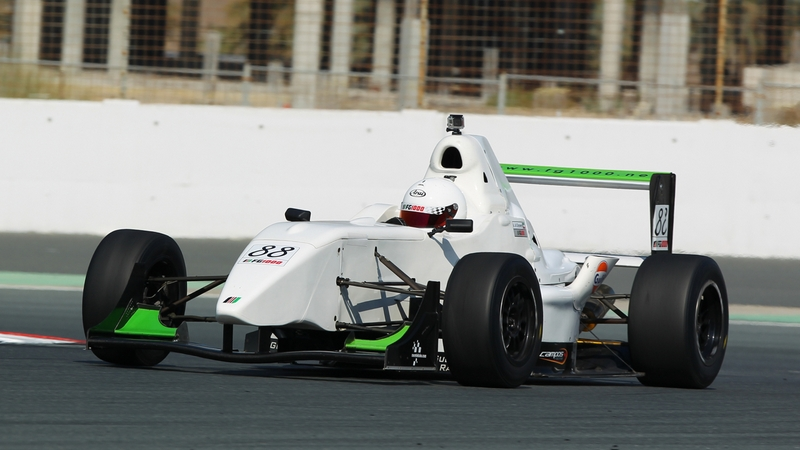 UAE: Al Ghanem and Hirani fight for title in Formula Gulf decider this weekend