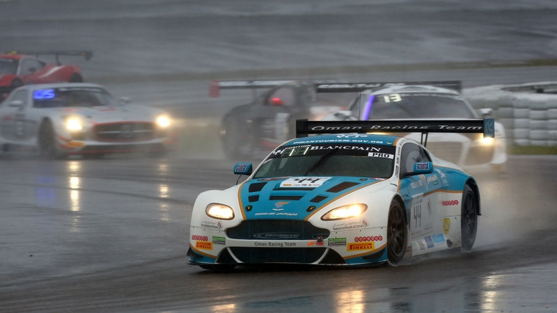 Blancpain: Oman's Al Harthy happy with performance despite technical issues in rain soaked Nurburgring