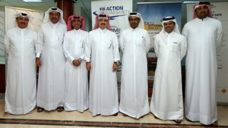 Al Attiyah congratulated the new QMMF president and board members