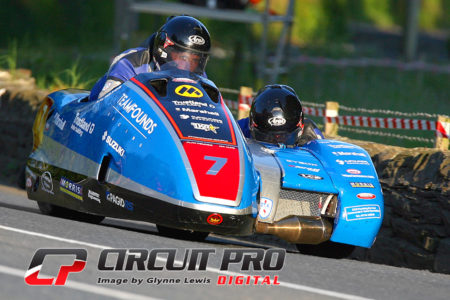 Alan Founds and  Aki Aalto rounding out the podiums in third place in race one