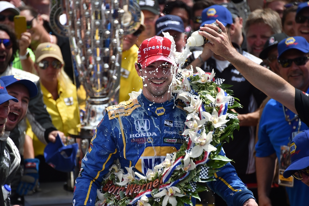 Indy500 Alex Rossi Makes History As Rookie Winner Of