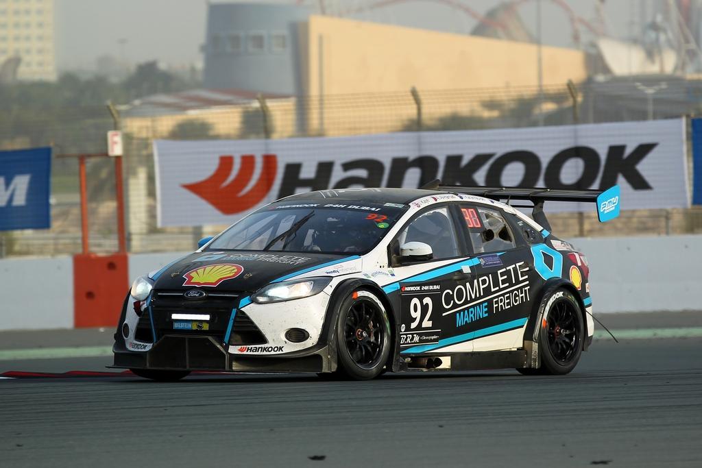 Dubai: Qatari driver Amro Al Hamad secures historic Podium finish in Hankook Dubai 24hr with MARC Cars team