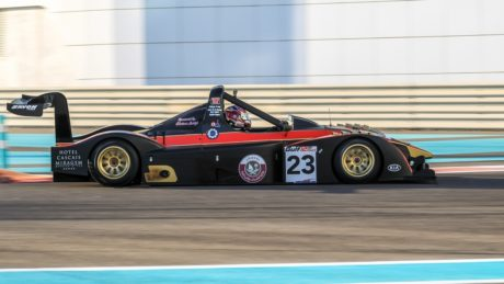 Amro Al Hamad during his Gukf 12hr victory at Yas Marina circuit r- image pre Zolder-image by XSPORTMedia