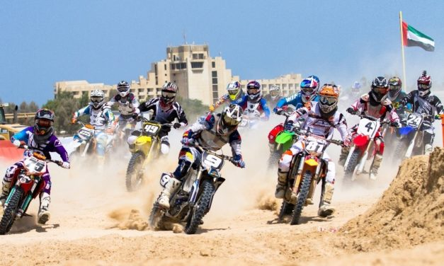 UAE MotoX: Mohammed Al Balooshi takes first heat of Arab Motocross Championship