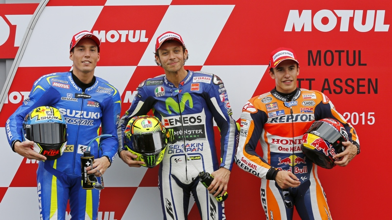 MotoGP: Record-breaking Rossi claims sensational pole position in Assen