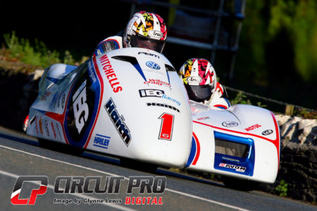 The Birchall brothers would set a new lap record in race 1 at over 117 mph average